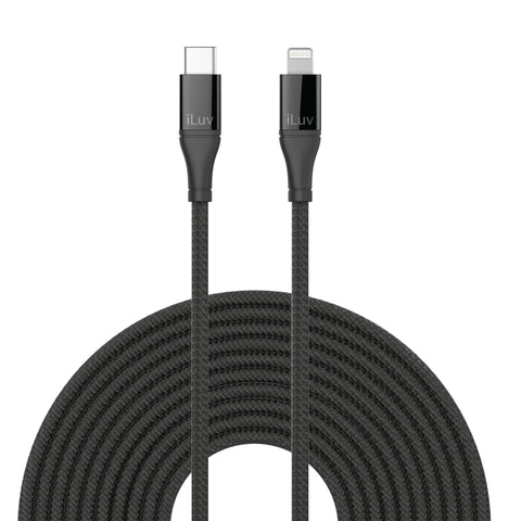 Lightning to USB-C Cable (10ft)