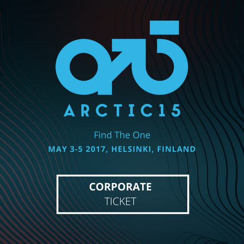 Arctic15 Corporate: Early Bird Corporate Ticket