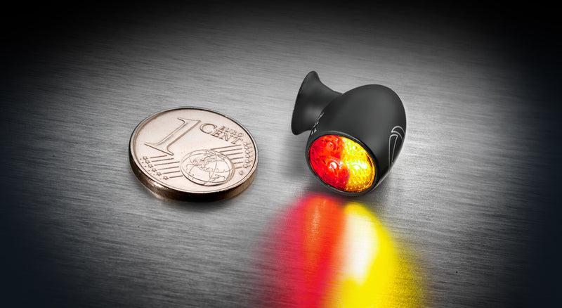 Kellermann Micro Extreme Atto Dark Running/Brake/Turn Signals - Taillight