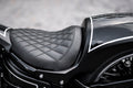 "H-D Softail Seat ""Godzilla"" for ""Fat Racer"" Rear Fender 2018-2019"