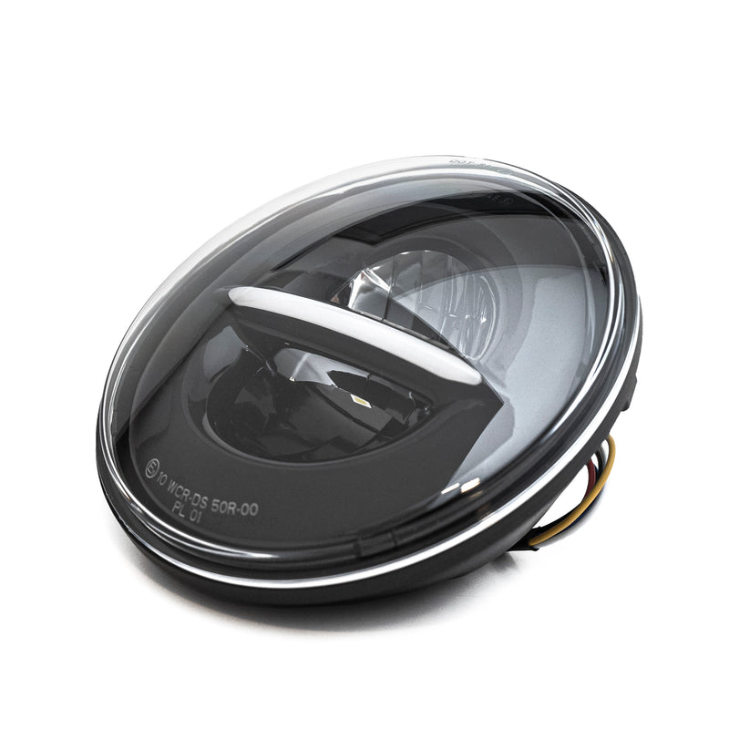 "Harley-Davidson 7"" Headlight (DOT and EC approved) With Parking Light"