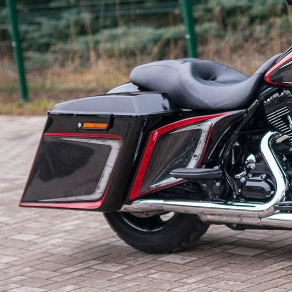 Harley Davidson Covers >> Harley Davidson Stretched Extended Side Covers 09 13