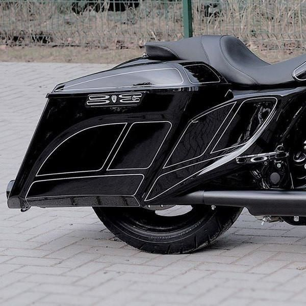 Harley Davidson Covers >> Harley Davidson Stretched Extended Side Covers 14 19