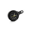 "New Design Harley-Davidson ""Milwaukee-Eight"" Rocker Box Mounted Air Ride Black Pressure Gauge Kit 1/4 (6 mm)"