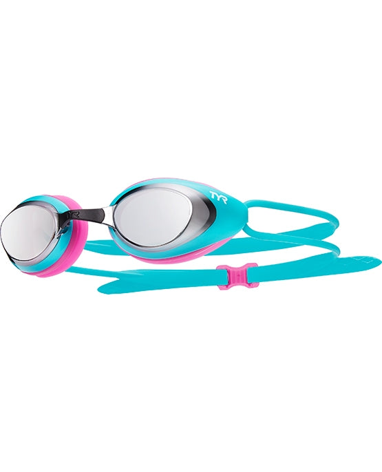 TYR Blackhawk Racing Mirrored Goggles Femme