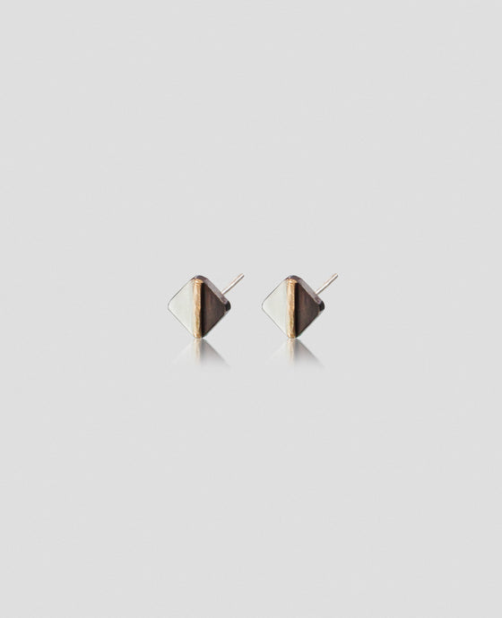 Light + Dark Square Studs