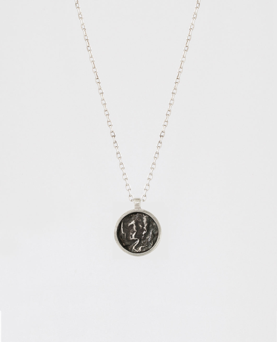 Mini Circular Topography Necklace