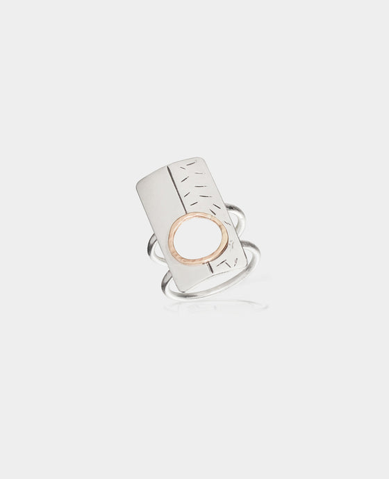 Rectangle Cutout Ring