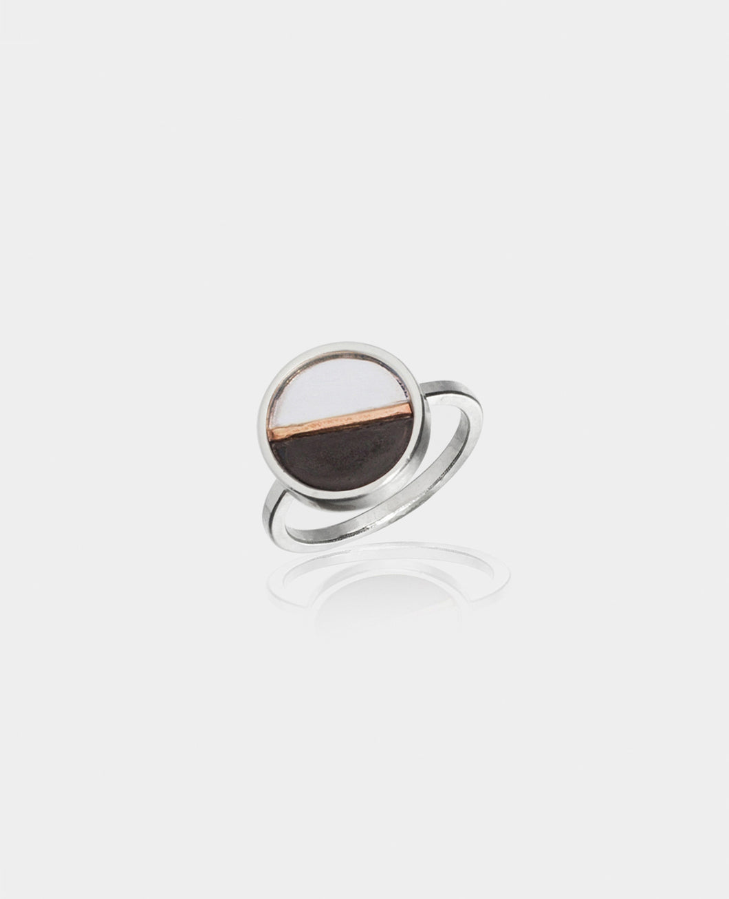 Light + Dark Circle Ring