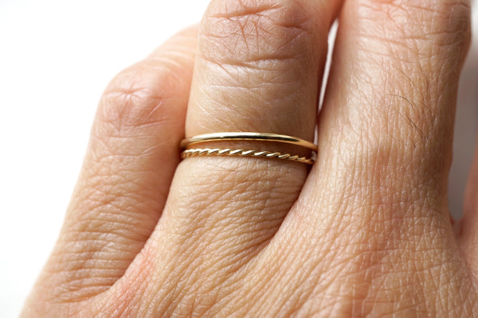 Stacking Ring Duo