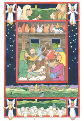SALE - Advent Calendar Card
