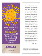 With Your Whole Heart Easter Bookmark