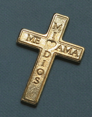 Spanish Brass Cross In My Pocket