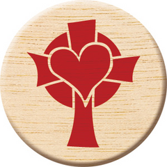 Cross In My Pocket-Wooden Medallion with Prayer Card