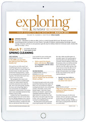 March 2021 Exploring the Sunday Readings Digital Edition
