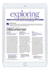 August Exploring the Sunday Readings Digital Edition