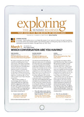March Exploring the Sunday Readings Digital Edition
