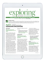 April Exploring the Sunday Readings Digital Edition