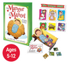 Manger on the Mantel Activity Book and Magnet for Advent and Christmas Children's fun