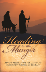 Heading To The Manger - Catholic Version