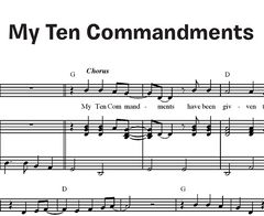 My Ten Commandments (Together in Jesus)