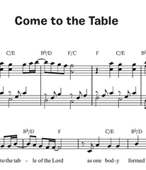 Come to the Table (Together in Jesus)