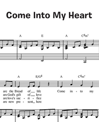 Come Into My Heart (Together in Jesus)