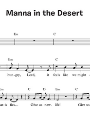 Manna in the Desert (Together in Jesus)