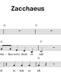 Zaccheaus (Together in Jesus)