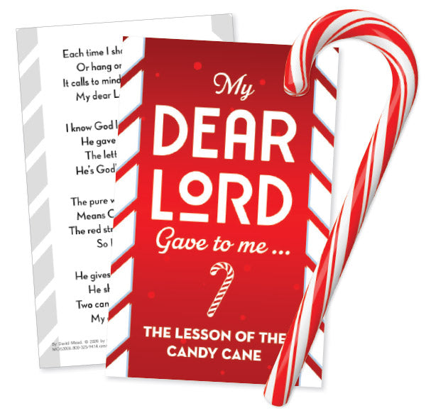 Candy Cane Card