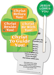 Christ Beside You! Christ to Guide You! Lollipop with Gift Card