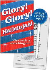 Glory! Glory! Hallelujah! Lollipop with Gift Card