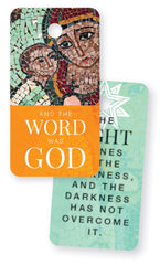 And The Word Was God - Advent Keytag