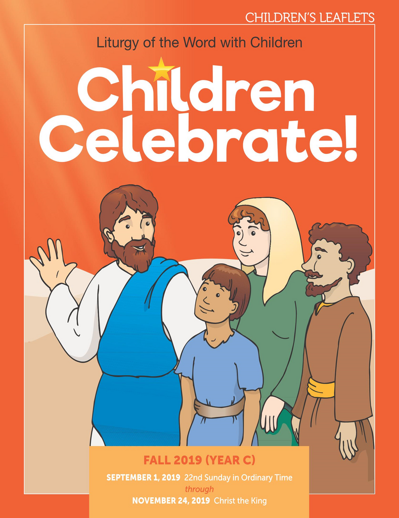 Children Celebrate - Fall 2019 - Student Leaflets