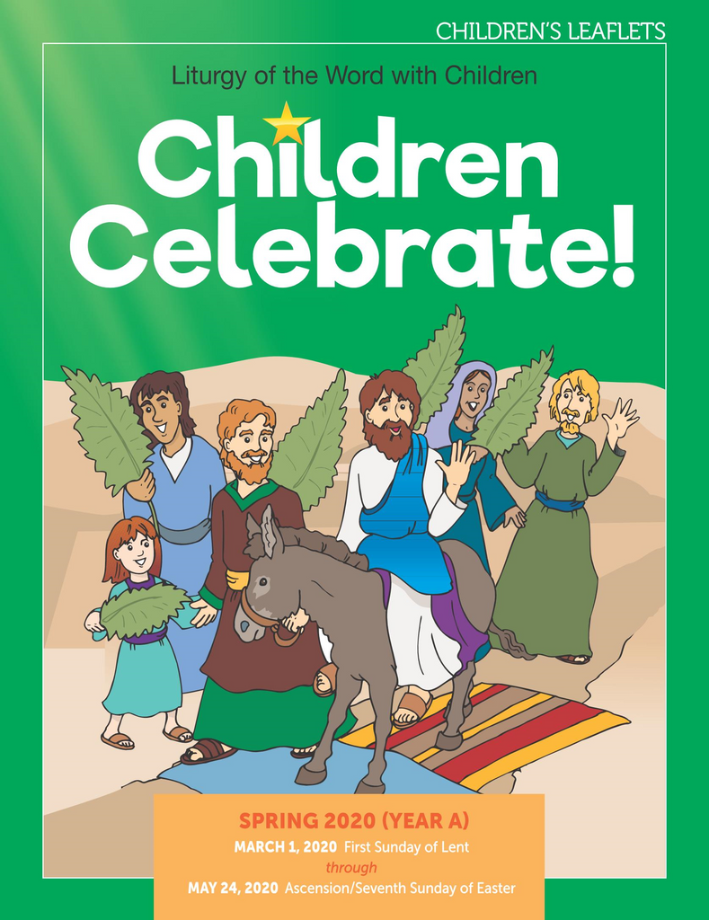 Children Celebrate - Spring 2020 - Student Leaflets