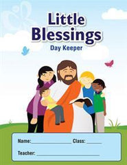 Christian Preschool Little Blessings Day Keeper