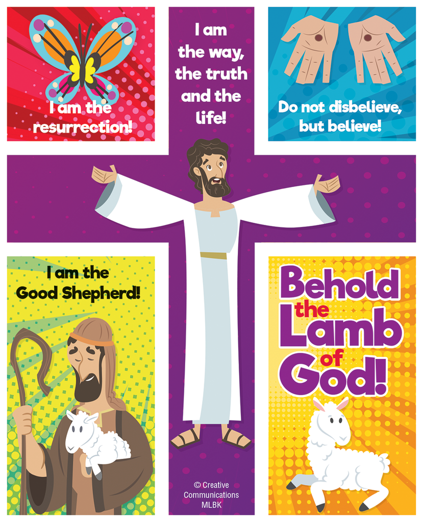 Behold the Lamb of God! Puzzle Magnet