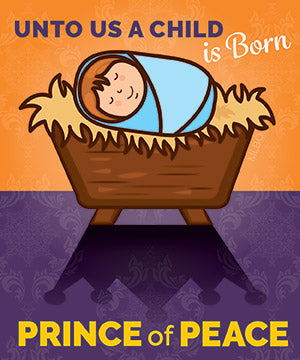 Prince of Peace - Christmas Magnet