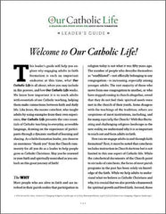 Our Catholic Life Leader's Guide English