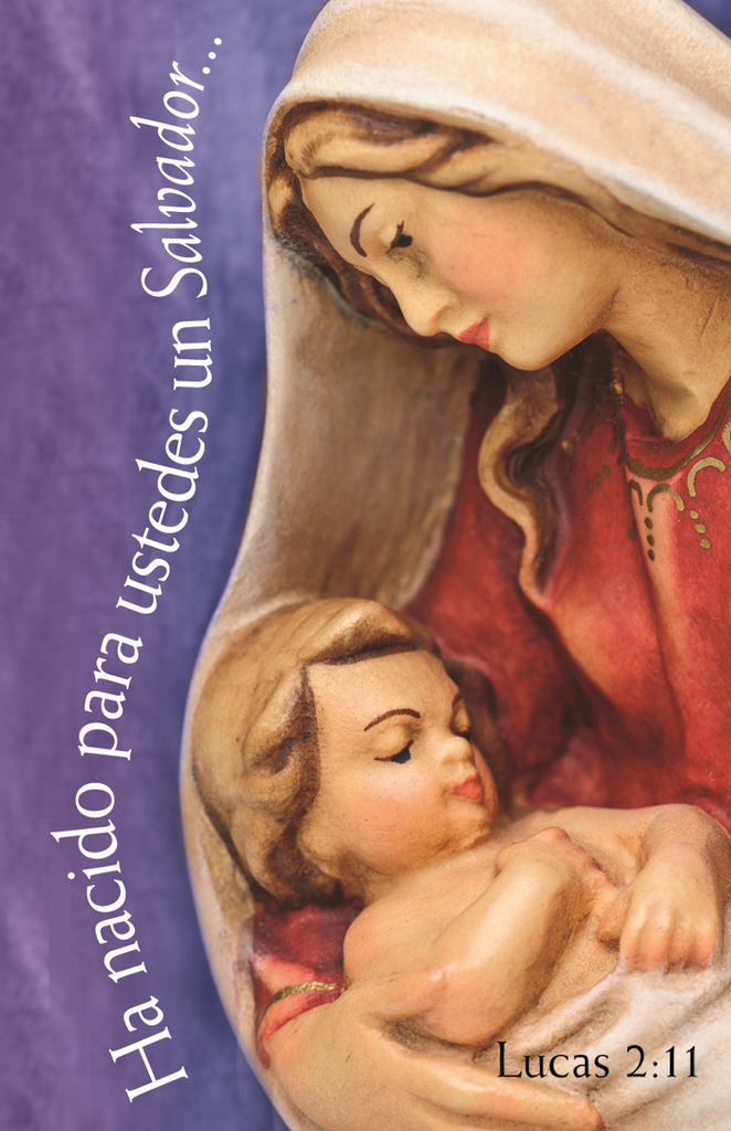 Spanish Christmas Prayer Card