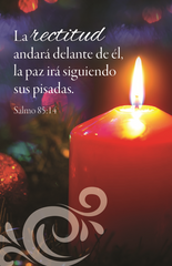 Spanish Advent Prayer Card