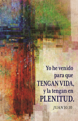 Spanish Lenten Prayer Card