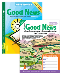 Good News Student Bilingual — Grades 2 to 3 — Pflaum Gospel Weeklies