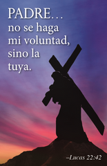 Lenten Prayer Card - Spanish