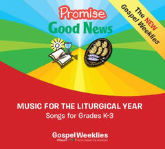 Promise/Good News 2 CD Set— Kindergarten to Grade 3 — Pflaum Gospel Weeklies