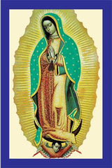 Our Lady Of Guadalupe Prayer Card -Spanish