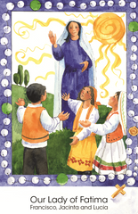 The Hail Mary Prayer Card