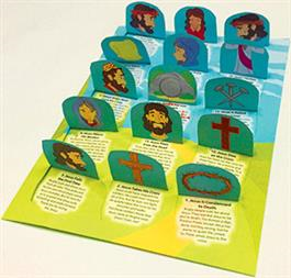 Stations Of The Cross Pop-Up Calendar