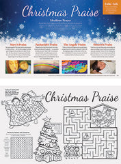SALE  - Christmas Praise Placemat