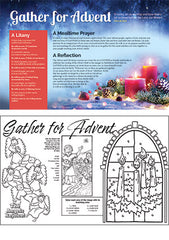 Gather for Advent Placemat